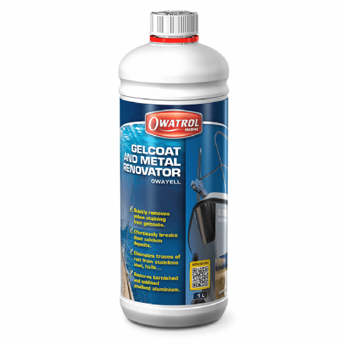 Owatrol Owayell Gelcoat and Metal Renovator - 1 Litre